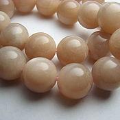 Материалы для творчества handmade. Livemaster - original item Oligoclase, Sunstone, smooth ball 12 mm. Handmade.