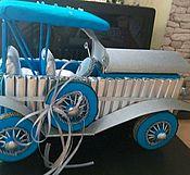 Подарки к праздникам ручной работы. Ярмарка Мастеров - ручная работа Ретро автомобиль. Handmade.