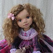 Куклы и игрушки handmade. Livemaster - original item Veronica. Textile doll. Handmade.