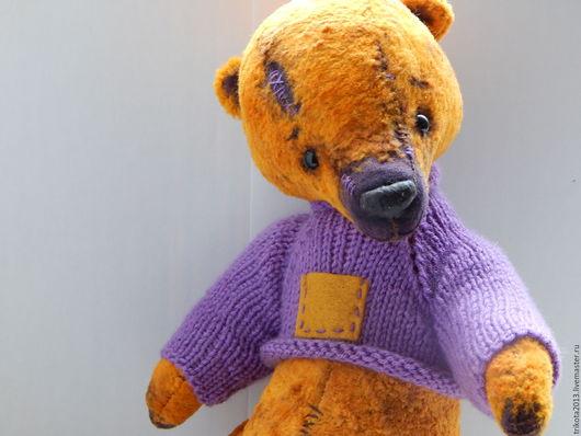 Мишки Тедди ручной работы. Ярмарка Мастеров - ручная работа. Купить Захар. Handmade. Рыжий, teddy, 6 шплинтов