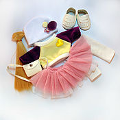 Заготовки для кукол и игрушек ручной работы. Ярмарка Мастеров - ручная работа Набор для создания куклы. Handmade.