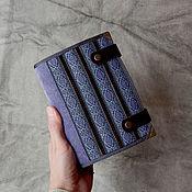 Блокноты ручной работы. Ярмарка Мастеров - ручная работа Блокнот софтбук пухляш А6 Жаккард и Вельвет. Handmade.