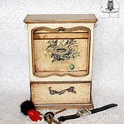 Для дома и интерьера ручной работы. Ярмарка Мастеров - ручная работа Ключница Антикварная. Handmade.