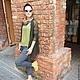 Кофты и свитера ручной работы. Ярмарка Мастеров - ручная работа. Купить Кардиган темно-болотного цвета из тонкого мохера. Handmade.