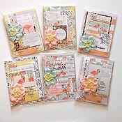 """Канцелярские товары ручной работы. Ярмарка Мастеров - ручная работа женская обложка на паспорт """"фламинго"""". Handmade."""