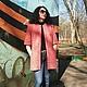 """Верхняя одежда ручной работы. Ярмарка Мастеров - ручная работа. Купить Пальто """"Весна идёт"""".. Handmade. Коралловый, пальто весеннее"""