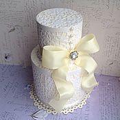 Свадебный салон ручной работы. Ярмарка Мастеров - ручная работа Свадебный подарочный набор Гипюровое платье. Handmade.