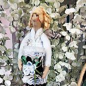 """Куклы и игрушки ручной работы. Ярмарка Мастеров - ручная работа Сплюшка """"Хранительница ватных палочек и дисков"""". Handmade."""