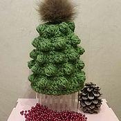 Аксессуары handmade. Livemaster - original item Hat knit. Handmade.