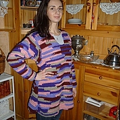 Одежда ручной работы. Ярмарка Мастеров - ручная работа Туника в стили бохо. Handmade.