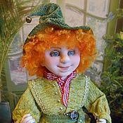 Куклы и игрушки ручной работы. Ярмарка Мастеров - ручная работа ГНОМИК  текстильная кукла. Handmade.