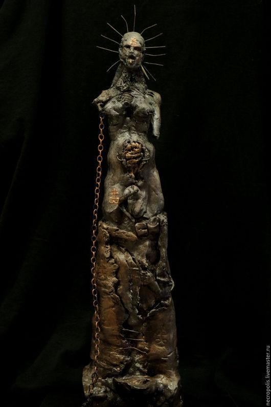 Готика ручной работы. Ярмарка Мастеров - ручная работа. Купить Leviathan. Handmade. Фиолетовый, полимерная глина