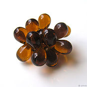 Материалы для творчества handmade. Livemaster - original item Glass beads drops Czech Republic 3 colors. Handmade.