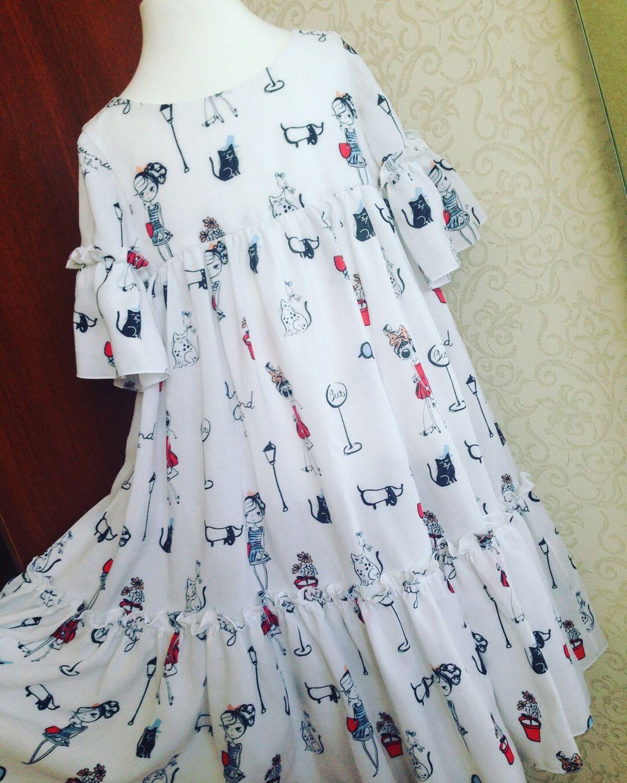 b9d275c1efa7c4b Одежда для девочек, ручной работы. Ярмарка Мастеров - ручная работа. Купить Летнее  платье