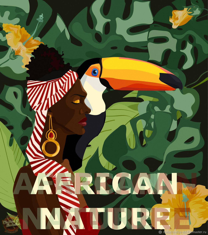 "Постер ""African Nature"", , Петрозаводск, Фото №1"