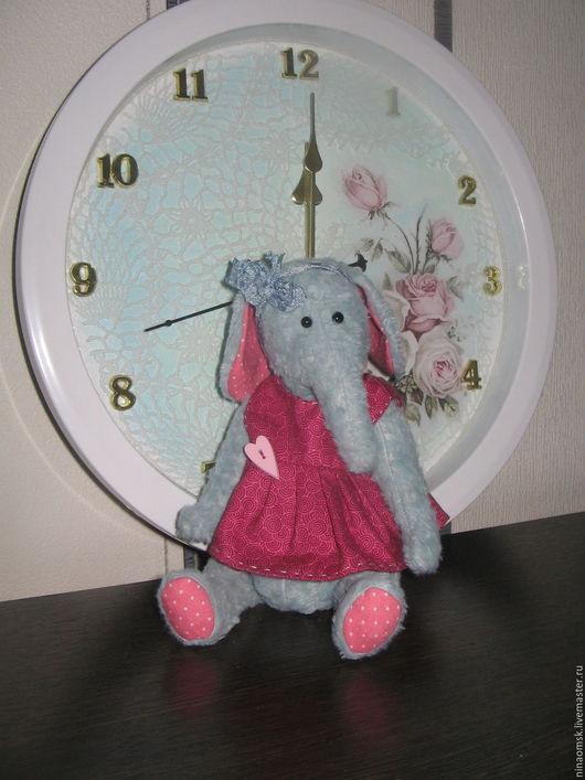 Мишки Тедди ручной работы. Ярмарка Мастеров - ручная работа. Купить Тедди слоник Нюша. Handmade. Мятный, хлопок
