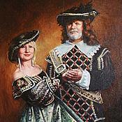 Подарки к праздникам ручной работы. Ярмарка Мастеров - ручная работа Портрет, семейный портрет по фотографии на заказ. Handmade.