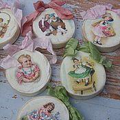"""Подарки к праздникам ручной работы. Ярмарка Мастеров - ручная работа Игрушки-подвески """" Винтажные"""" , набор 7 штук. Handmade."""