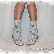 Обувь ручной работы handmade. Livemaster - original item Copy of Copy of Summer Boots (Pineapple). Handmade.