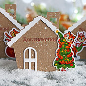 Сувениры и подарки handmade. Livemaster - original item The year of the tiger: Tags with wishes!. Handmade.