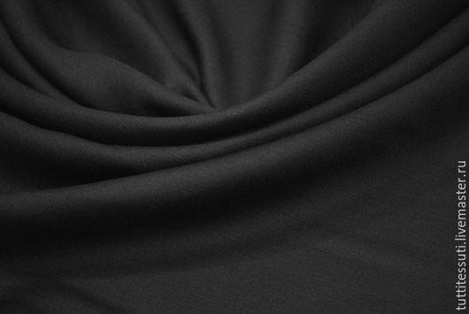 Шитье ручной работы. Ярмарка Мастеров - ручная работа. Купить Лен 02-003-1703. Handmade. Черный, Плательная ткань