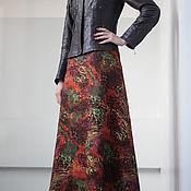 Одежда ручной работы. Ярмарка Мастеров - ручная работа Валяная юбка .Нунофелтинг. Handmade.