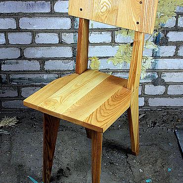 Мебель ручной работы. Ярмарка Мастеров - ручная работа Стул Авангард Ясень. Handmade.