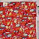 Шитье ручной работы. Ярмарка Мастеров - ручная работа. Купить Ткань для пэчворка Американский хлопок Мышки художники (20519). Handmade.