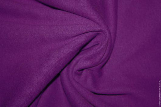 """Шитье ручной работы. Ярмарка Мастеров - ручная работа. Купить Трикотаж """"Фиалка"""". Handmade. Тёмно-фиолетовый, ткань для шитья, ткани"""