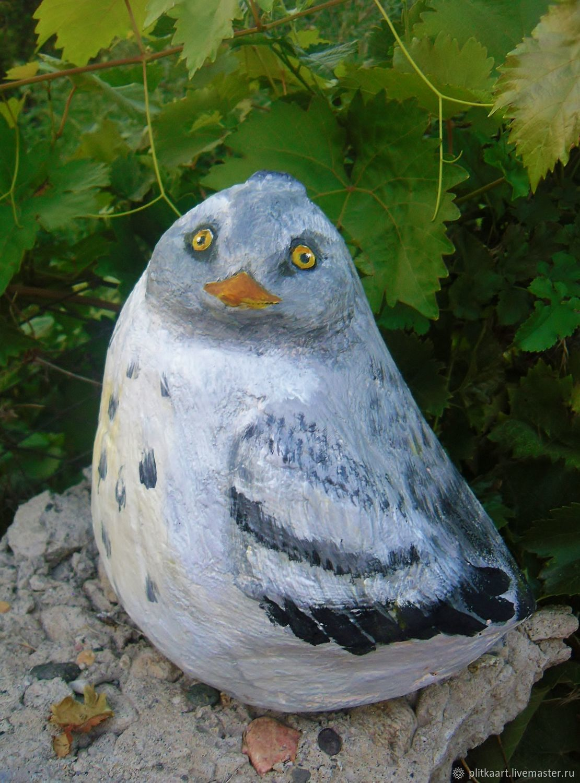 птички из бетона