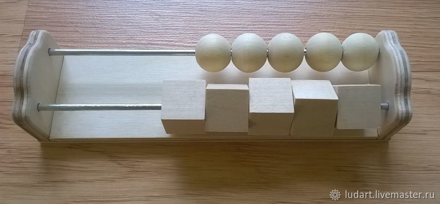 Счеты деревянные ( заготовка для бизиборда ), Бизиборды, Санкт-Петербург,  Фото №1