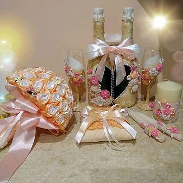 Свадебный салон ручной работы. Ярмарка Мастеров - ручная работа Свадебный набор. Handmade.