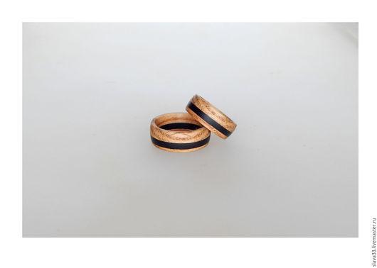 Кольца ручной работы. Ярмарка Мастеров - ручная работа. Купить Парные колечки из дерева ( На заказ ). Handmade.