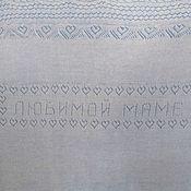 Подарки к праздникам handmade. Livemaster - original item 228 handkerchief down Favorite mother, gifts for the holidays, personal. Handmade.