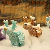 """Косметика ручной работы handmade. Livemaster - original item Сувенир ручной работы """"Сказочный олень"""" 3d.Новогодний подарок. Handmade."""