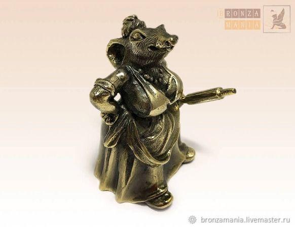 колокольчик Крыса со скалкой, Колокольчики, Санкт-Петербург,  Фото №1