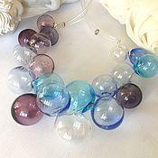 Украшения handmade. Livemaster - original item Necklace made from hand-blown beads .Lampwork. Handmade.