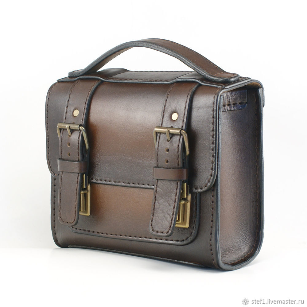 eac5490d0bb6 Мужские сумки ручной работы. Ярмарка Мастеров - ручная работа. Купить Сумка  мужская кожаная