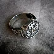"""Перстень ручной работы. Ярмарка Мастеров - ручная работа Перстень """"Счастливчик"""". Handmade."""