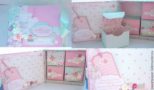Подарки для новорожденных, ручной работы. Ярмарка Мастеров - ручная работа. Купить Мамины сокровища для девочки. Handmade. Розовый, для девочки