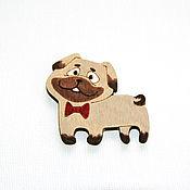 Украшения handmade. Livemaster - original item Icon wooden