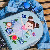Рюкзаки ручной работы. Ярмарка Мастеров - ручная работа Рюкзак для девочки. Handmade.