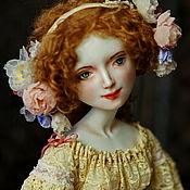 Куклы и игрушки ручной работы. Ярмарка Мастеров - ручная работа Cleo. Подвижная кукла из фарфора. Handmade.