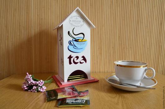 """Кухня ручной работы. Ярмарка Мастеров - ручная работа. Купить Чайный домик """"Сладости"""". Handmade. Чайный домик, чайная шкатулка"""