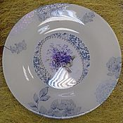 """Посуда ручной работы. Ярмарка Мастеров - ручная работа """"Букет фиалок"""". Handmade."""