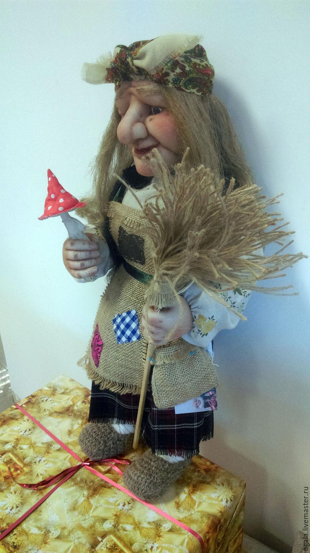 Как сделать куклу Баба Яга своими руками 89