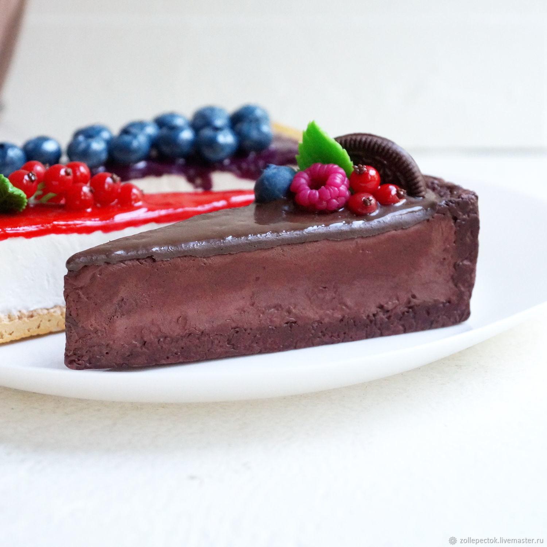 cheesecake slice. Dummy, Models of dishes, Rostov-on-Don,  Фото №1