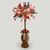 handmade. Livemaster - original item Tree of semi-precious stones