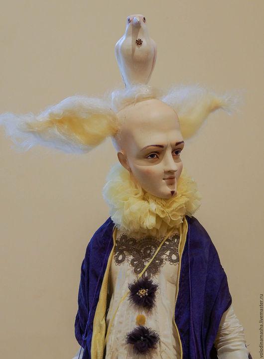 """Коллекционные куклы ручной работы. Ярмарка Мастеров - ручная работа. Купить Кукла """"Белая Ворона"""". Handmade. Тёмно-фиолетовый"""