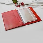 Сумки и аксессуары handmade. Livemaster - original item Leather passport cover and car documents / Buy leather. Handmade.